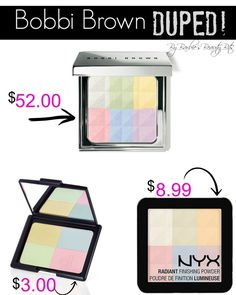This is a Bobbi Brown Dupe by NYX & E.L.F. By Barbie's Beauty Bits. #dupes, #makeuptip, #DIYbeauty (THERE IS NO SELLING HERE, $ signs for duping purposes only)