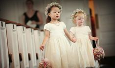 Adorable Hairstyles for Flower Girls