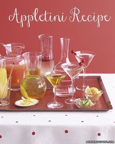 Appletini recipe #cocktails