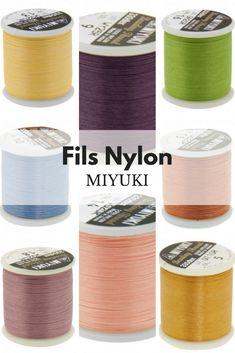 Fils Nylon Miyuki #DIY #creativité #bijoux