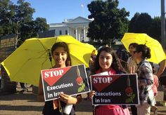 NCRI - National Council of Resistance of Iran - Iranian-Americans urge White…