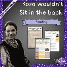 Rosa Parks - ESL Worksheets Bundle