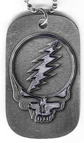 Grateful Dead Steal Your Face Dog Tag