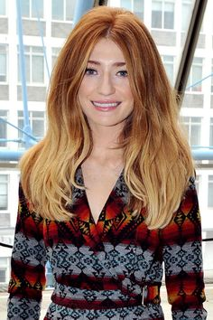 I want my hair to grow quicker so I can have blonde ends like this Long Bob Hairstyles, Celebrity Hairstyles, Wedding Hairstyles, Blonde Ends, Nicola Roberts, Long Layered Hair, Ginger Hair, Big Hair, Hair Dos