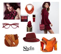 """""""SheIn Contest~"""" by sanya-marc ❤ liked on Polyvore featuring Calvin Klein Collection, BCBGMAXAZRIA, Tom Ford, Avon, Fairchild Baldwin and Foley + Corinna"""