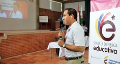Santander hoy web: Lebrija: El gobernador lanzó el Día E en Colegio L...