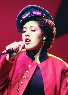 "Poly Styrene of X Ray Spex. ""Some people think little girls should be seen and not heard. But I think, OH BONDAGE, UP YOURS!"""