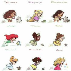 Funny Disney Pixar Comment 35 Ideas For 2019 Cute Disney Drawings, Disney Princess Drawings, Disney Princess Art, Disney Fan Art, Cute Drawings, Disney Princesses, Drawing Disney, Chibi Disney, Kawaii Disney