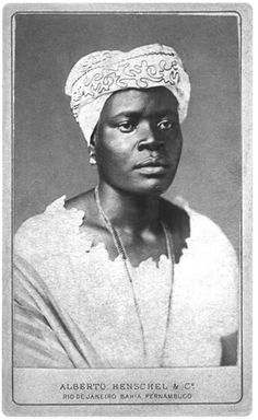 """Portrait of a black woman"" - Alberto Henschel - 1870 - slavery remained legal in Brazil until Henschel left many striking portraits of African-Brazilian people, most of them enslaved. Women In History, Black History, Johann Moritz Rugendas, Brazilian People, Ferrat, African Diaspora, We Are The World, African American Women, Before Us"