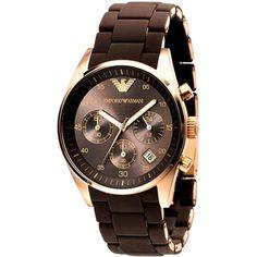 Emporio Armani ar5891 Ladies Silicon Strap Watch
