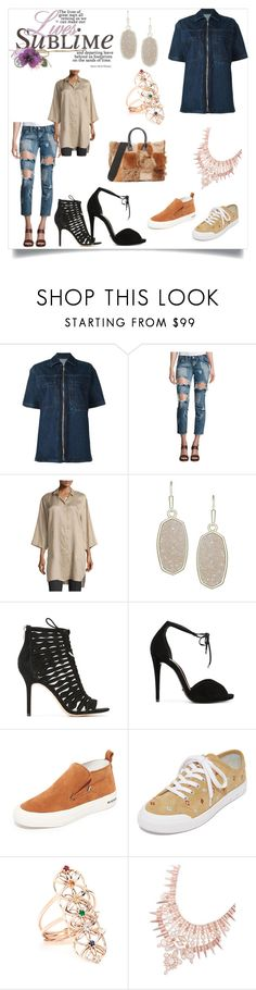 """""""You are blowing my mind"""" by denisee-denisee ❤ liked on Polyvore featuring Each X Other, OneTeaspoon, Lafayette 148 New York, Kendra Scott, Sam Edelman, Schutz, SeaVees, rag & bone, Jacquie Aiche and Marni"""