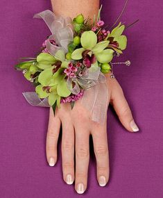 Wrist Corsage - by Blumz by JRDesigns in metro Detroit and Flower Shop Network…