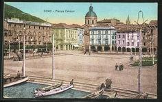 Como,   Cavour square, 1929