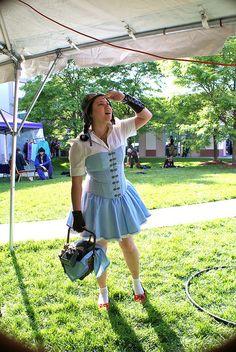 Steampunk Dorothy by Professor Fumolatro, via Flickr