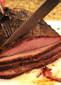 Beef brisket and a backyard smoker: It doesn't get any better than that! This beef brisket is rubbed down with my special rub then smoked on the smoker. And...I'll even tell you how to get past that stall! You're going to LOVE this post!