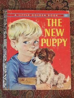 The New Puppy 1959 A Edition  Missing title page