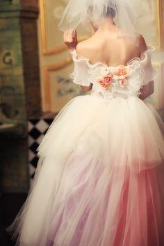 Romantic Wedding Dresses by Kelly , via Behance