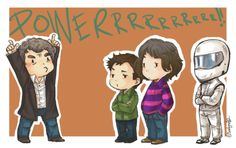 The clearest sign that the appeal of Top Gear is universal: the hosts illustrated as kawaii and posted to We Heart It.