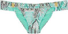 Vix Swimwear Rudá snake-print bikini briefs on shopstyle.co.uk