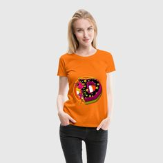 D Buchstabe Name Design T-Shirt für Frauen. Dein individueller Buchstabe D Name Design als T-Shirt oder Accessoires.Über 100 Motive im online Shop www.deapherominia.de