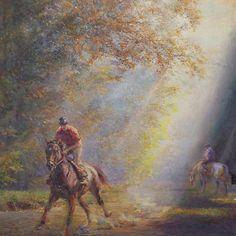 Caballerizas de Alfredo de la Maria en la muestra colectiva Caballos. 📍Av. Alvear 1580 - PB  lunes a viernes de 13 a 19.30hs.   #delamaria #alfredodelamaria #horses #horselovers #horseexhibition #arteycaballos #artexhibition #equineart #oiloncanvas #caballerizas
