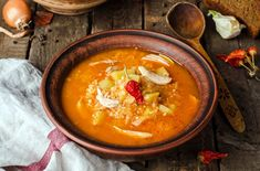 Pri veľkom stole a z jednej misky Czech Recipes, Ethnic Recipes, Vegetable Dishes, Cheeseburger Chowder, Thai Red Curry, Soup, Vegan, Vegetables, Cooking