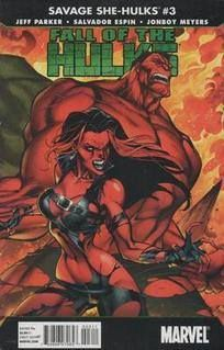 Savage She-Hulks No 3 / 2010  £1.05