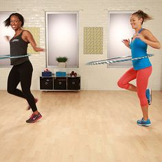Hula-Hoop Exercises From Hoopnotica