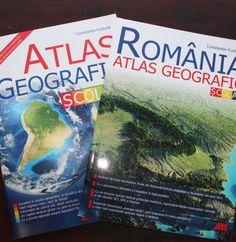 Atlas geografic scolar/ Romania atlas geografic - pachet Editura All  (recenzie)