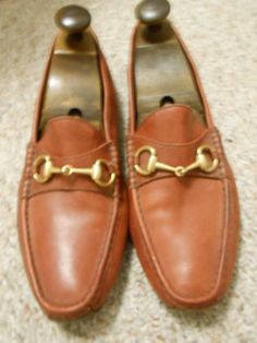 965c550310b Love these vintage Gucci's! Great pair of shoes for the well dressed man.  Får