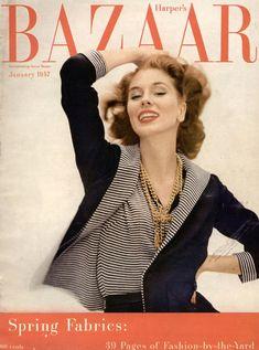 Vintage Harper's Bazaar cover