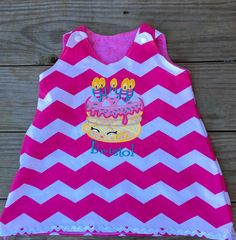 Shopkins Cake  birthday outfit! by Mimimadeitboutique on Etsy