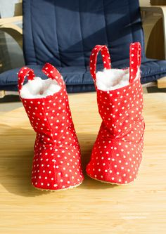 Connor Baby Boots PDF Pattern