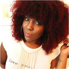 Dark+red+Afro