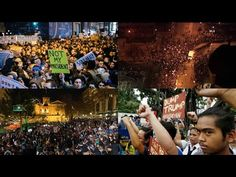 Something Very Scary is Happening WORLDWIDE! Anti-Trump Protests Are Sweeping The Globe! - YouTube