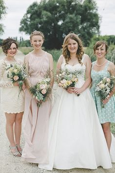 Wedding Trends we love: Lace bridesmaid dresses - Wedding Party
