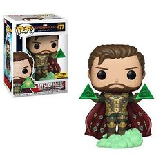 Figurine Funko Pop Spider-Man Far from Home - Mysterio 477 Funko Pop Marvel, Marvel Pop Vinyl, Pop Vinyl Figures, Funko Pop Dolls, Funk Pop, Der Computer, Pop Toys, Pop Characters, Star Wars Art