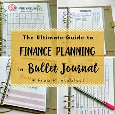 The Ultimate Guide for Financial Planning in Bullet Journal