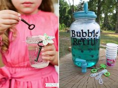 How to entertain kids at a wedding - soap bubbles
