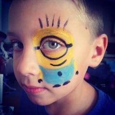 """Résultat de recherche d'images pour """"minion face paint"""""""