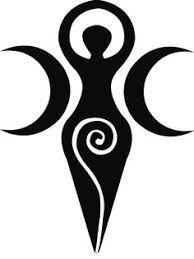 Image Result For Moon Goddess Symbol Tattoo Goddess Tattoo Goddess Symbols Pagan Symbols