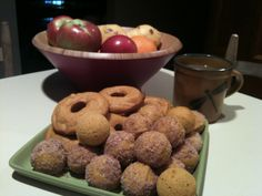 Baked Pumpkin Doughnuts - King Arthurs Flour recipe- Excellent!