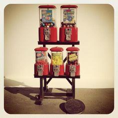 Miniature Gumball Machines