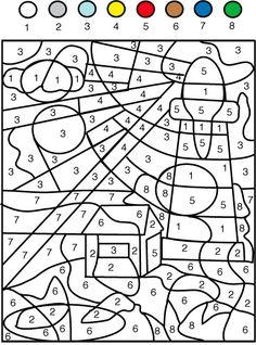 Dibujos Para Colorear Segun Numeros Imagui Dibujos Para Colorear