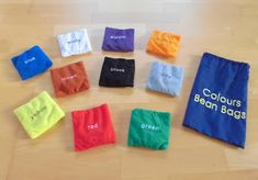 Materialwiese: Colours Beanie Bags