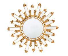 Espejo de pared Chitra - dorado