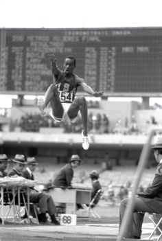 1968 Mexico City Olympics: Bob Beamon  Queens native Bob Beamon jumped his way into the Olympic record books in 1968 when he shattered the world record in the long jump in the thin air of Mexico City. Beamon's mark stood for nearly 23 years before fellow American Mike Powell finally bested him in 1991. His historic jump was named by Sports Illustrated as one of the five greatest sports moments of the century.