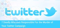 7 Responsible For the of Your Glamour World, Seo News, About Twitter, Twitter Tips, Seo Services, Social Networks, Search Engine, Mistakes, No Response