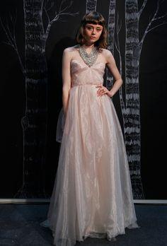 Vestidos de Novia de color Rosa para primavera 2013