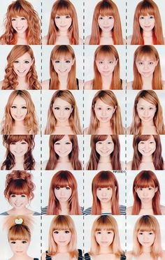 makeup transformations in a gyaru magazine. AWESOME.